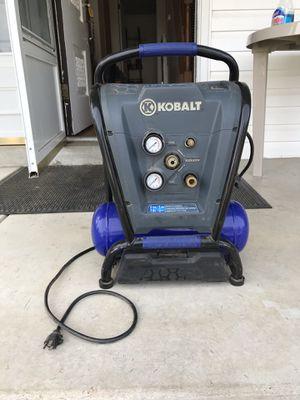 Kobalt air compressor for Sale in Florissant, MO