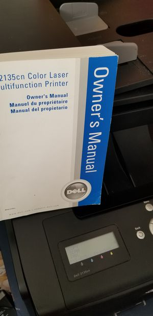 Dell 2135cn color laser multifunction printer for Sale in West Valley City, UT