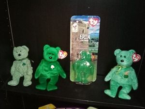 BEANIE BABIES LOT ERIN for Sale in Stockton, CA