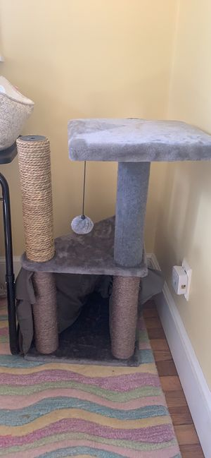 Cat play area brand new cat never touched it for Sale in Easton, MA