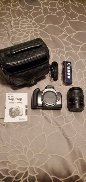 Canon rebel k2 35mm film camera for Sale in Elk Grove Village, IL