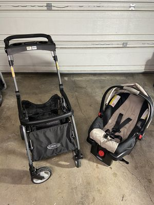 Grace quick connect stroller and car seat set for Sale in Vancouver, WA