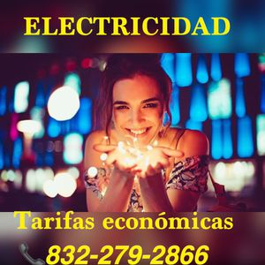 ELECTRICIDAD for Sale in Kingwood, TX