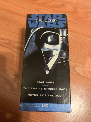 Star Wars original vhs set 1995 for Sale in Tracy, CA