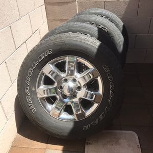 F150 rims and tires for Sale in Gilbert, AZ