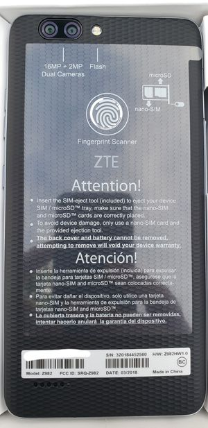 ZTE MAX ****Desbloqueado*** for Sale in Miami, FL