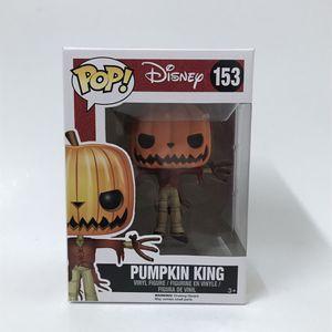 Funko pop disney NBC pumpkin king vinyl figure w pop protector for Sale in San Fernando, CA