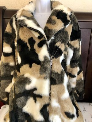 Brand new Beautiful military stuffed coat SMALL size for Sale in Corona, CA