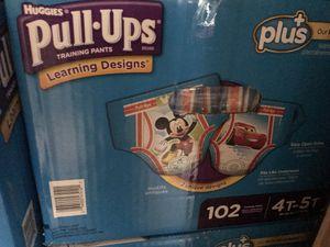 New Pull ups huggies 4t-5t training pants for Sale in Philadelphia, PA