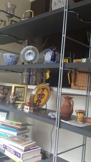 metal and wood shelves for Sale in Washington, DC