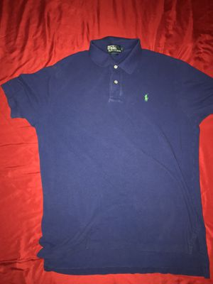 Men's large polo blue polo Ralph Lauren t shirt 👕 for Sale in San Antonio, TX