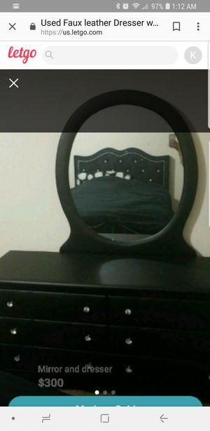 Dresser & Mirror for Sale in Washington, DC