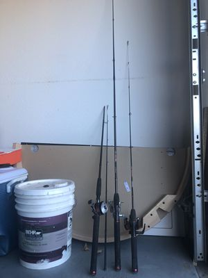 FISHING RODS ASSORTED for Sale in Surprise, AZ