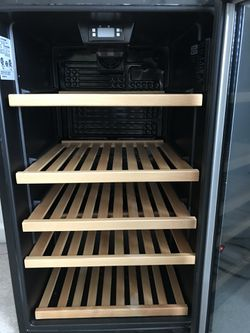 Mini-Fridge And 31-Bottle Wine Cooler With Digital Controls And Adjustable Wooden Shelves for Sale in Norcross,  GA