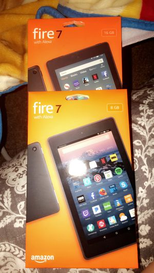 Fire 7 amazon tablet for Sale in San Jose, CA