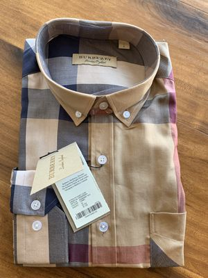 Burberry Plaid Shirt for Sale in Los Angeles, CA