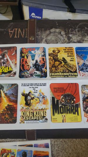 Vintage godzilla stickers for Sale in Issaquah, WA