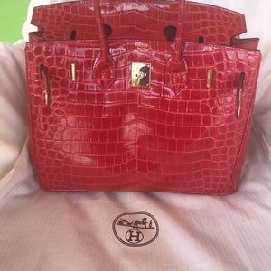 Brand new red Hermes bag for Sale in Houston, TX