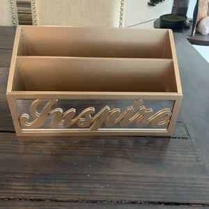 Workspace By design style - Gold Document /folder Holder Office Organizer for Sale in Miami, FL