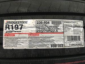 Bridgestone R197 Top of The Line Semi Trailer Tire for Sale in Taylor, MI