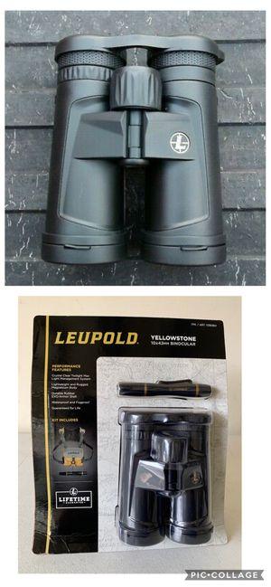 Leupold Yellowstone 10x42mm Binocular Set, Black for Sale in Flower Mound, TX