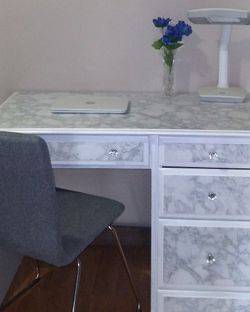 Renovated White desk for Sale in Kent,  WA