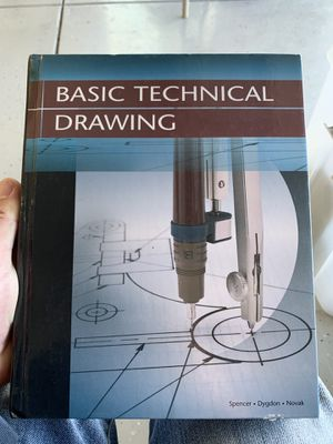 Basic Technical Drawing Textbook for Sale in Phelan, CA