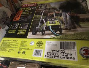 1700 rioby pressure washer for Sale in Dallas, TX