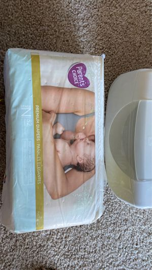 newborn diapers & nursing pads for Sale in Webster, TX