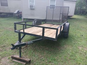 5x10 utility trailer for Sale in Dover, FL