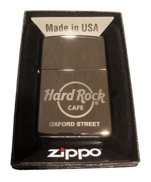 Hard Rock Cafe OXFORD STREET Collectible ZIPPO Lighter for Sale in Grayslake, IL