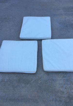 Patio furniture chair top seat padding cover 3 for $35 for Sale in Chula Vista, CA