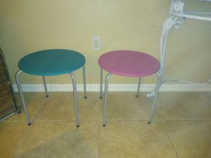 Two small tables or two chairs for Sale in Sanford, FL