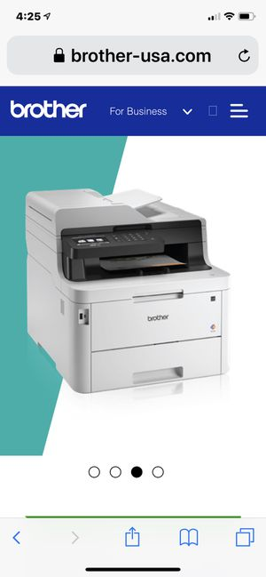 The Brother MFC-L3770CDW digital color all-in-one delivers print, copy, scan and fax for home and small offices. Single-pass duplex copying and scann for Sale in Fort Lauderdale, FL