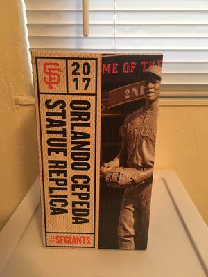 Orlando Cepeda Statue Replica (09/16/17 Promo Giveaway AT&T Park) for Sale in Moraga, CA