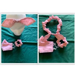 Face Mask With Headband And Scrunchie Set for Sale in Hemet,  CA