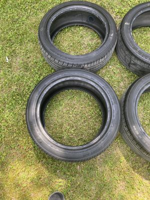 I have five used tires good shape 225/45/R17 for Sale in Elkridge, MD