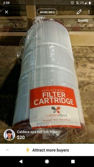 Caldera Spa Hot Tub Filter for Sale in Silver Spring, MD