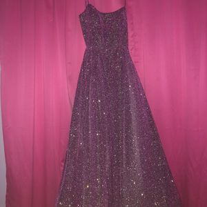 Sparkly purple prom Dress for Sale in Philadelphia, PA