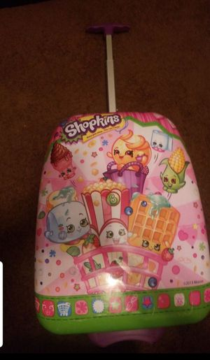 Shopkins rolling hardcase suitcase Excellent condition $15 for Sale in San Fernando, CA