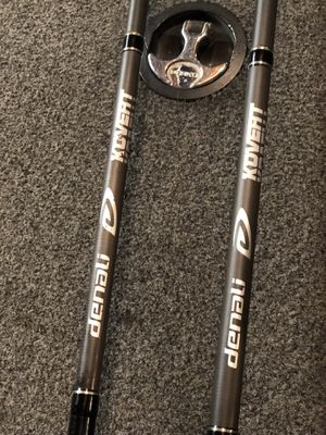 Denali kovert fishing rods for Sale in Temple, GA