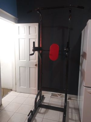 Home gym used but is almost new only used for caple months for Sale in Baltimore, MD
