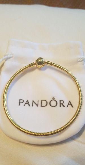 Pandora bracelet gold plated for Sale in Ocala, FL