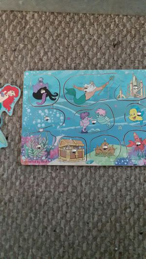 Ariel magnetic puzzles for Sale in Germantown, MD