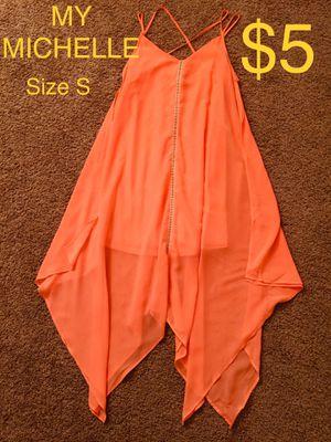 MY MICHELLE, Salmon Asymmetrical Dress, Size S for Sale in Phoenix, AZ