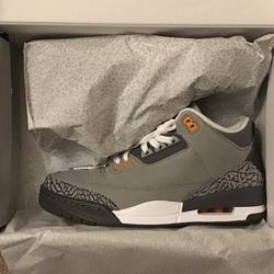 Jordan 3 Cool Grey Size 9 12 for Sale in Columbus,  OH