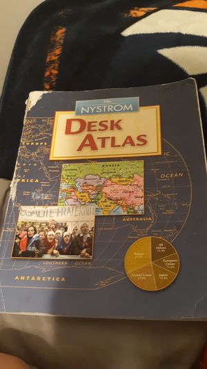 The nystrom desk atlas book for Sale in Waterloo, IN