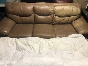 Brown Couch for Sale in Perris, CA
