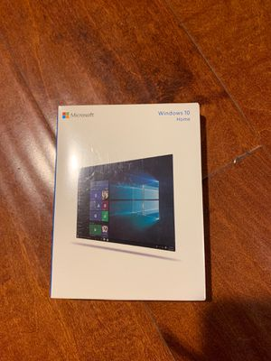 Windows 10 Home - Full Version 32 & 64-bit (USB Flash Drive) Factory Sealed for Sale in Walnut, CA