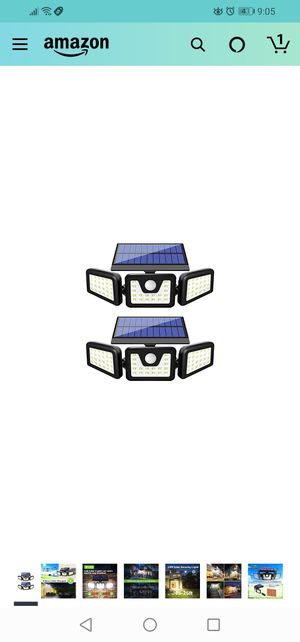 Solar security light (2pack) for Sale in Jacksonville, FL